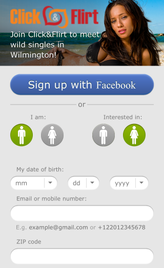 click and flirt mobile app