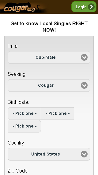 Cougar Fling
