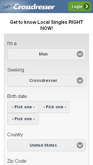 Date A Cross Dresser