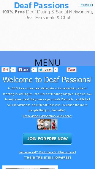 Deaf Passions