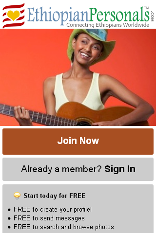 ethiopian dating sites free Free online dating in ethiopia - ethiopia singles mingle2com is a 100% ethiopia free dating servicemeet thousands of fun, attractive, ethiopia men and ethiopia women for free.