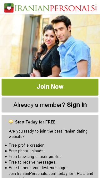 Iranian Personals