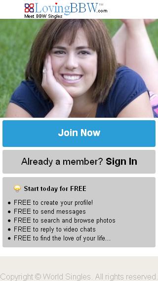 BBW Dating at LargeFriendscom