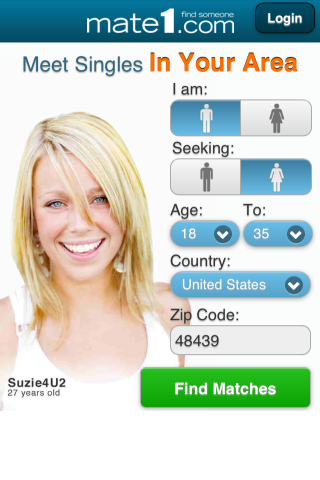 Mate1 dating app