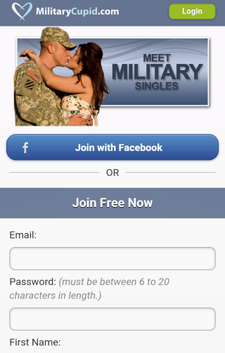 military cupid android app