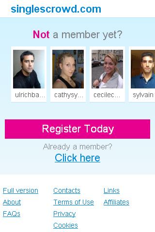 Mobile dating websites