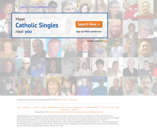 "catholic single men in olsburg Catholic dating websites help seniors click online and in person  ""that was 11  years ago, and very few people in their 60s and 70s were."