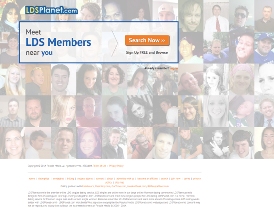 Planet dating website