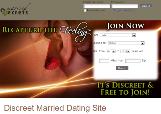 extramarital dating site