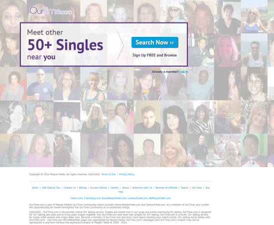 Over 50 Dating-Reviews of the Top 10 Dating Sites Over 50 Senior ...