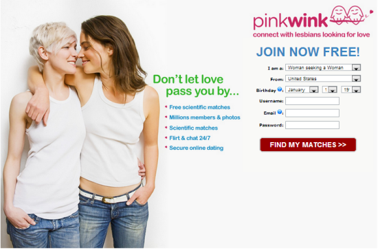 pink wink dating site
