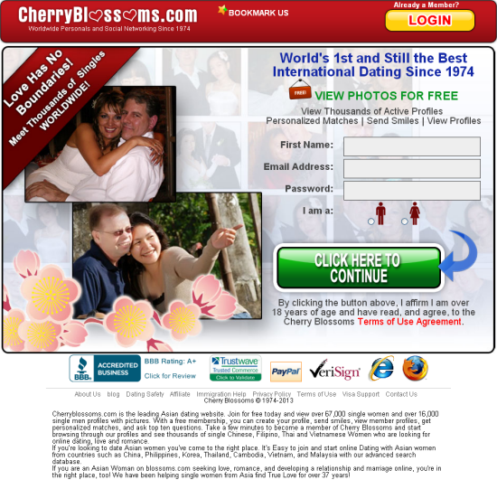 cherryblossom online dating and romance