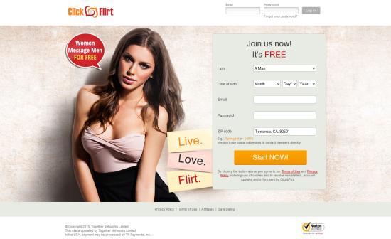 click and flirt.com
