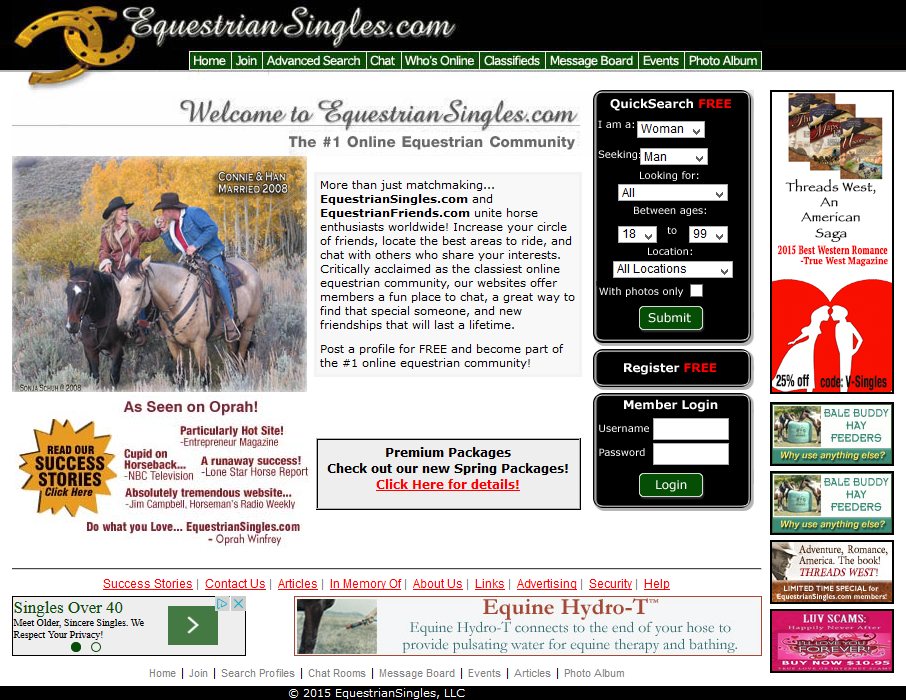 country lovers dating site Horse and country lovers is a dating and friendship site designed for horse and country singles it's both an online community for horse lovers who just want to chat about their favourite equestrian topics and to meet up for riding and other country sports, and a dating site for cowboys and cowgirls whether you are looking.