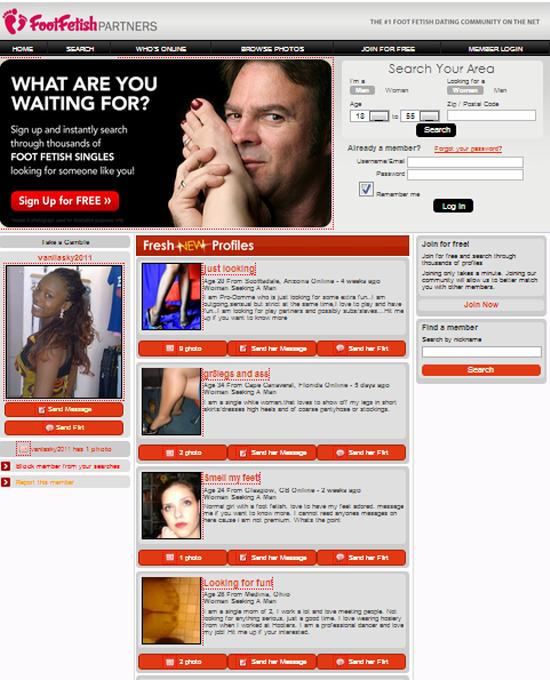 Fetish dating sites