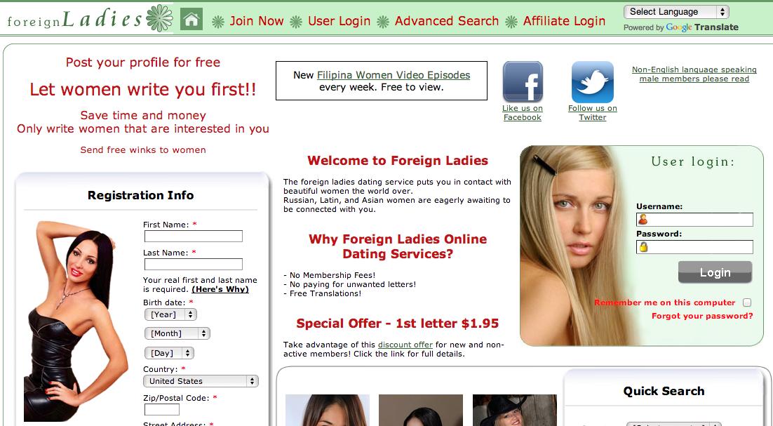 Alternative personals sites
