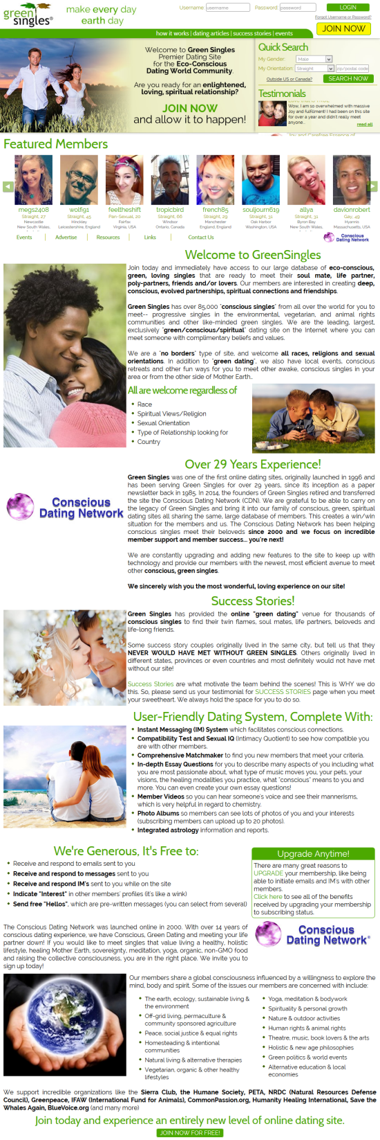 west green singles dating site Greensingles is for eco-conscious and green loving singles greensingles is a dating and relationship site for socially and ecologically conscious singles.