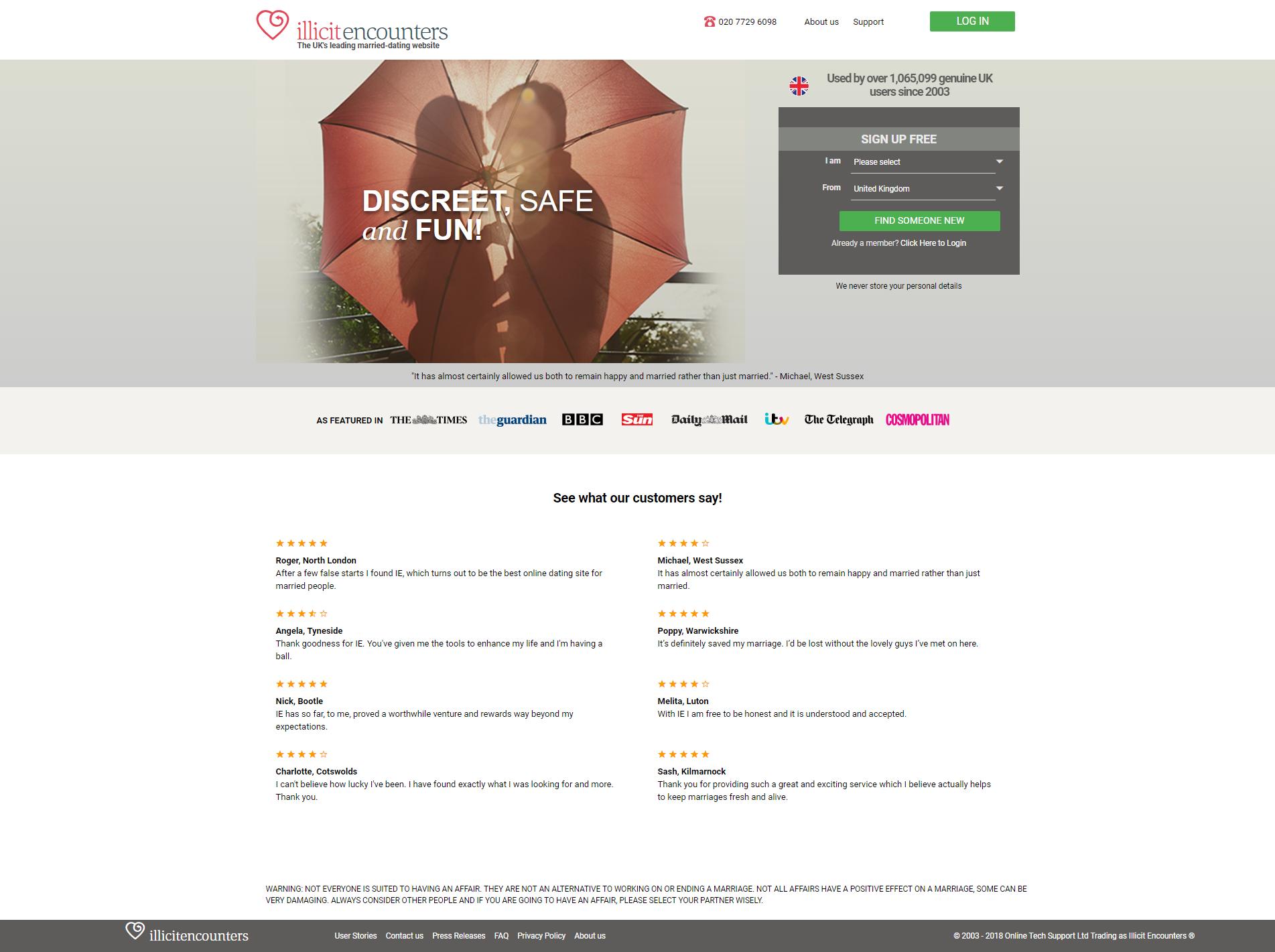 best illicit dating site