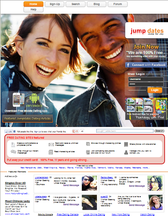 Free dating sites that cost no money
