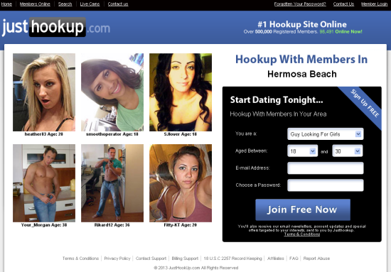 hookups dating site