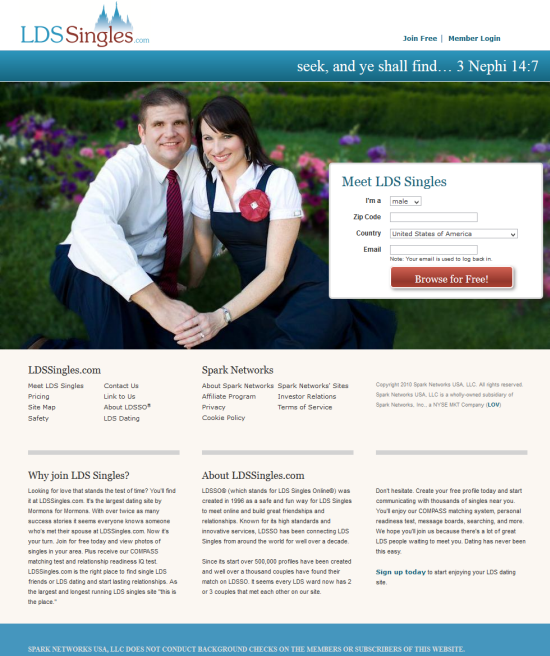mormon missionary dating site