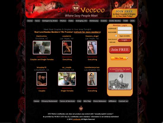 voodoo dating site
