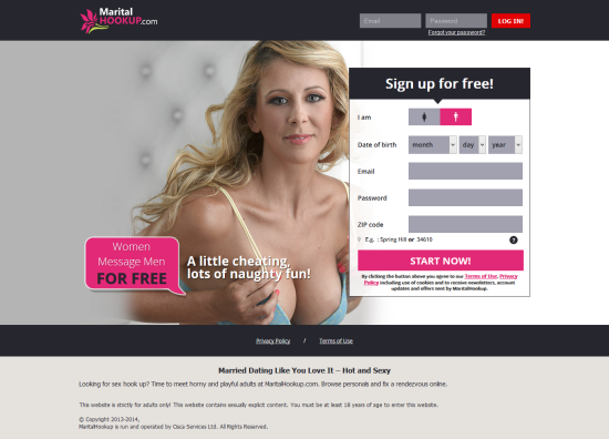 best married hookup sites