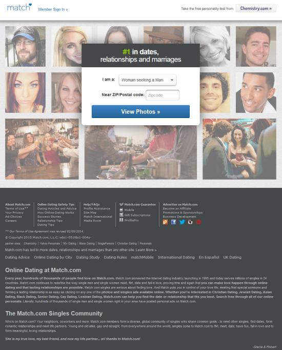 Match com dating site reviews
