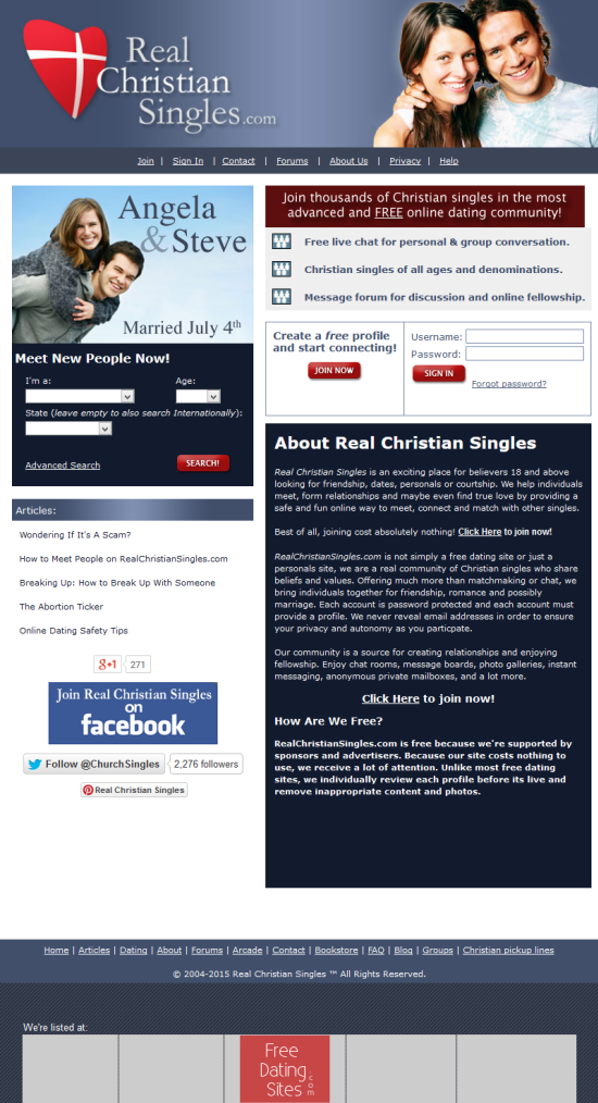Real christian dating websites