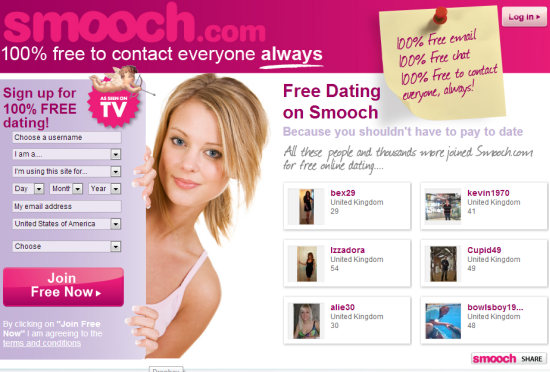 Smooch dating site