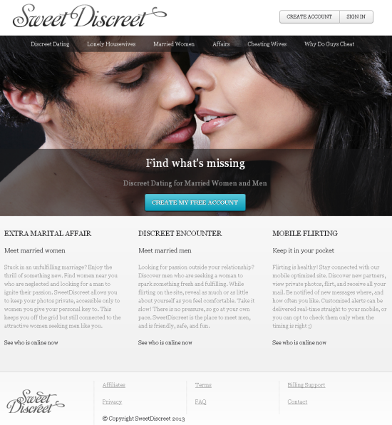 Discreet sex dating in Australia