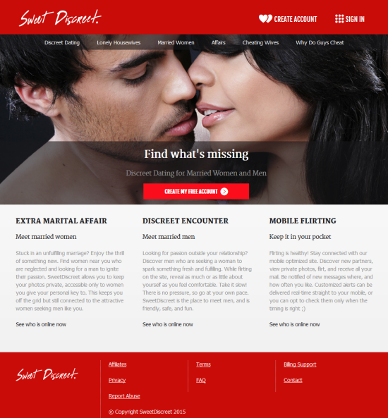 best discreet dating sites If you're looking for discreet dating sites like ashley madison, you've come to the right place we went digging for the best affair dating sites online.