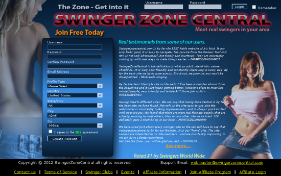 Swinger Zone Central is