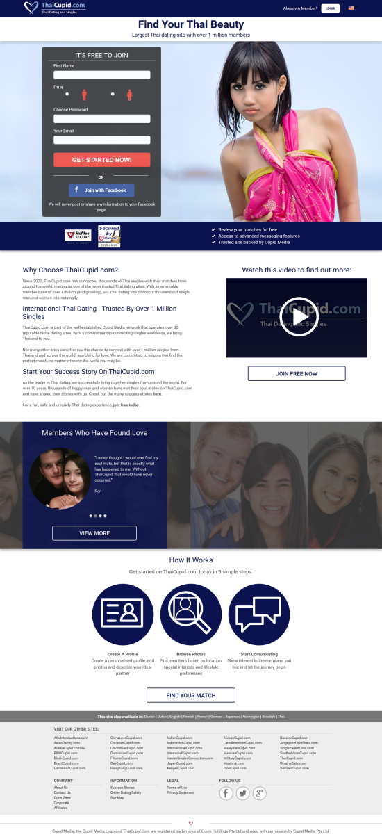Free thai dating sites reviews