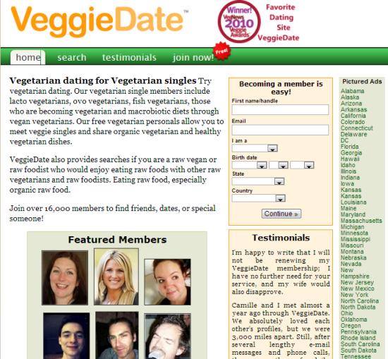 Best veggie dating sites